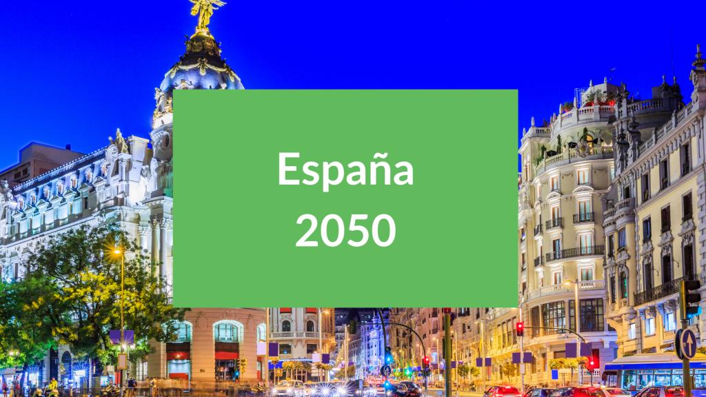 Sostenibilidad en España 2050
