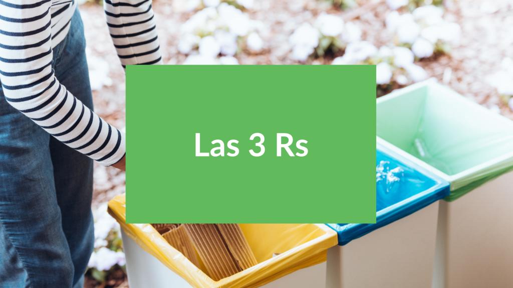 Las tres R del reciclaje, multi-r de la economía circular