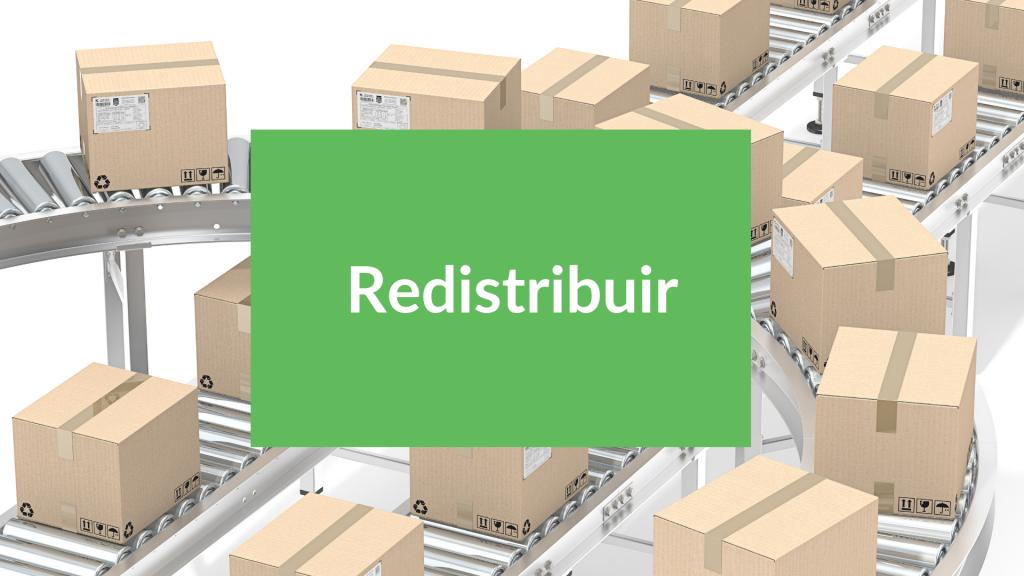 Redistribuir, multi-R de la economía circular