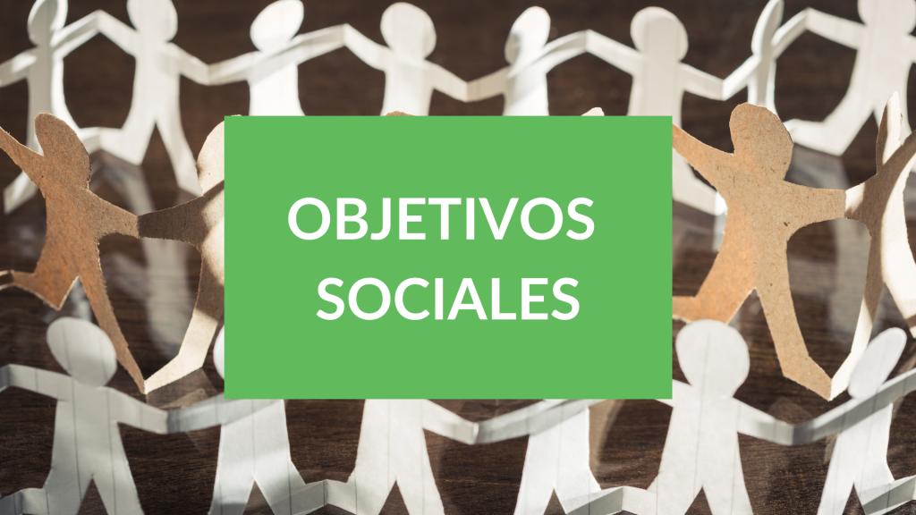 Objetivos de desarrollo sociales